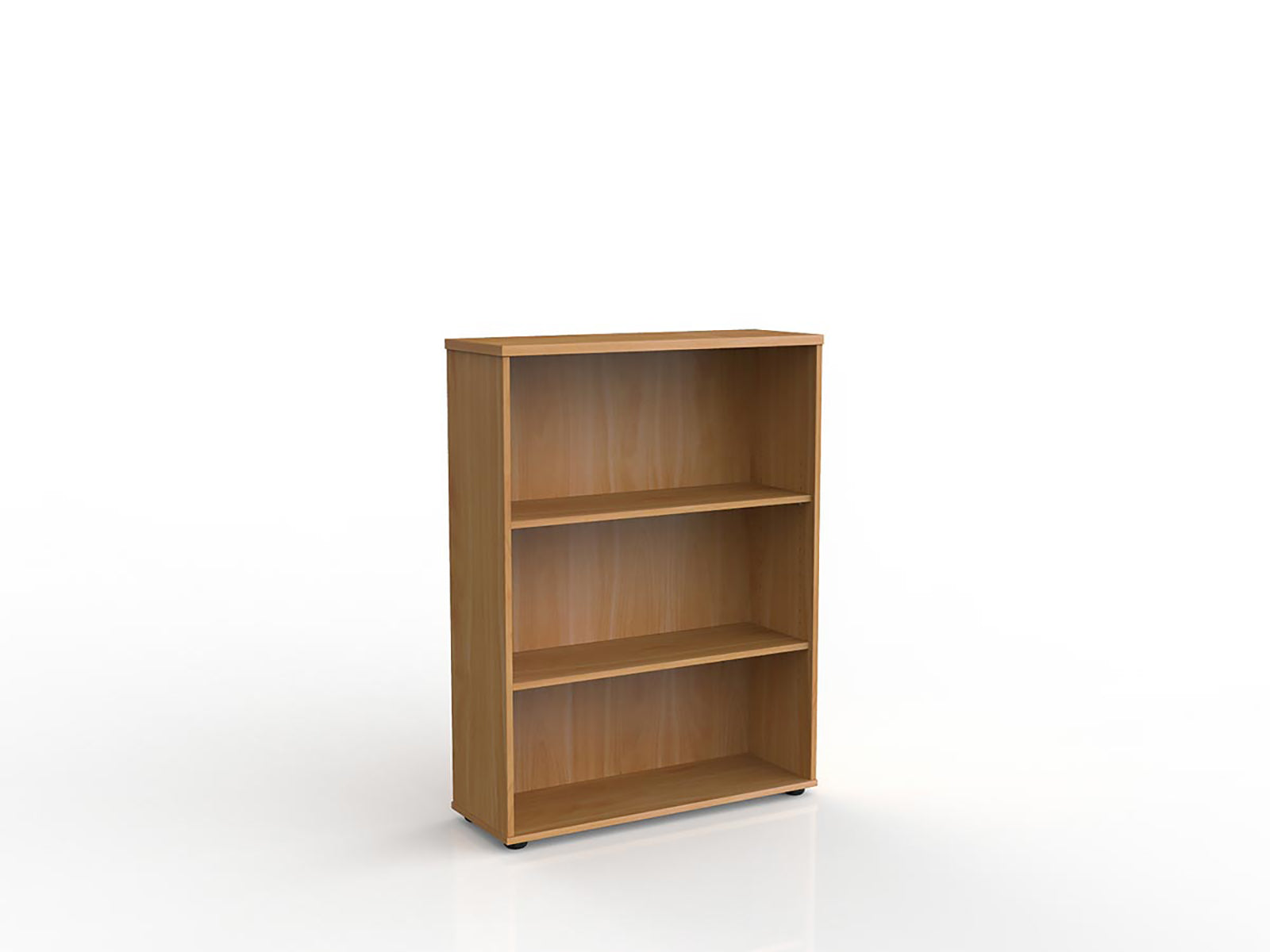 Ergoplan 1.2m Bookcase - Workspace Furniture Home and Office Cupboards and Shelves