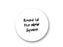 Magnetic Glass Writing Boards Round - White or Black