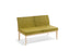 Stockholm 2 Seater - Workspace Furniture Home and Office Soft Seating and Ottomans
