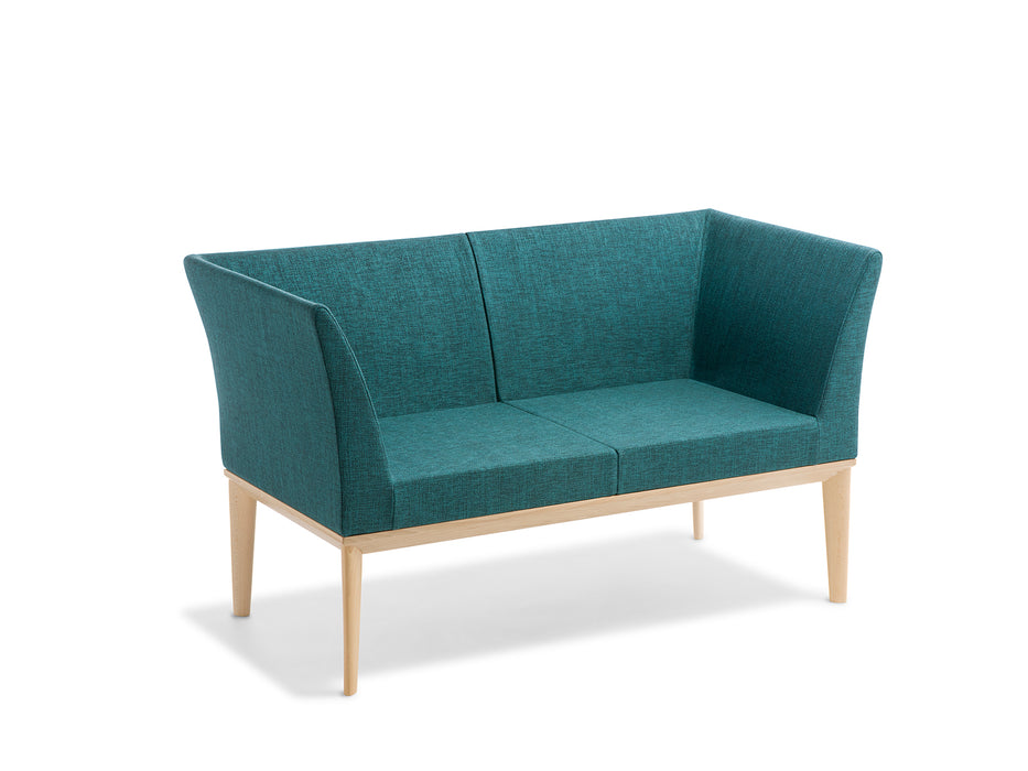 Stockholm 2 Seater with Arms - Workspace Furniture Home and Office Soft Seating and Ottomans