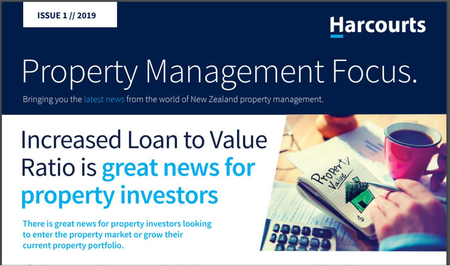 Increased Loan to Value Ratio is great news for property investors