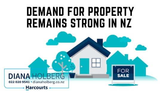 Demand for property remains strong in New Zealand with record asking price highs