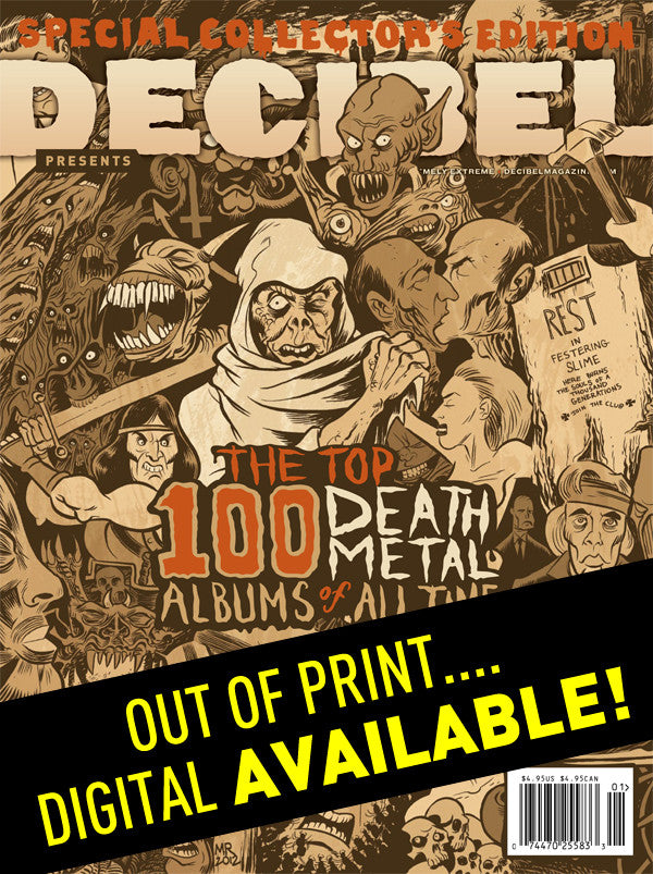 Top 100 Death Metal Albums of All Time Special Issue
