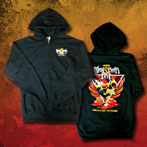 2019 Metal & Beer Fest Philly Hoodie