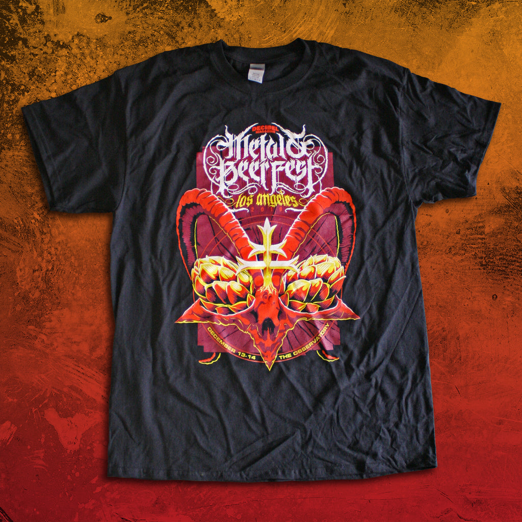 2019 Metal & Beer Fest Los Angeles T-Shirt