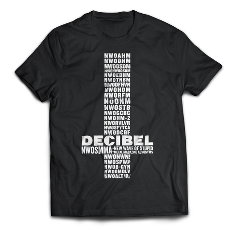 Decibel New Wave of shirt front