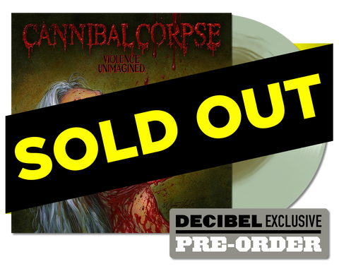 Cannibal Corpse - Violence Unimagined (EXCLUSIVE Coke Bottle Swamp Green) LP