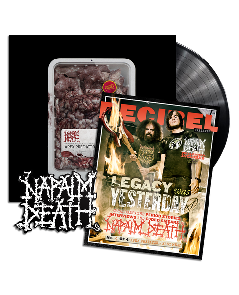Napalm Death - Apex Predator - Easy Meat PREORDER