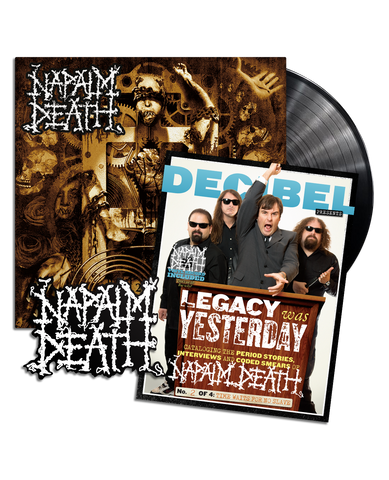 Napalm Death - Time Waits for No Slave  PREORDER