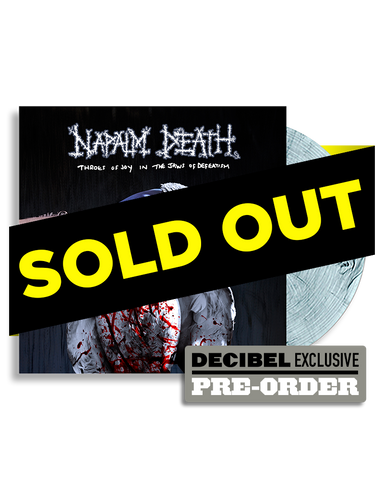 Napalm Death - Throes of Joy in the Jaws of Defeatism EXCLUSIVE COLOR PREORDER