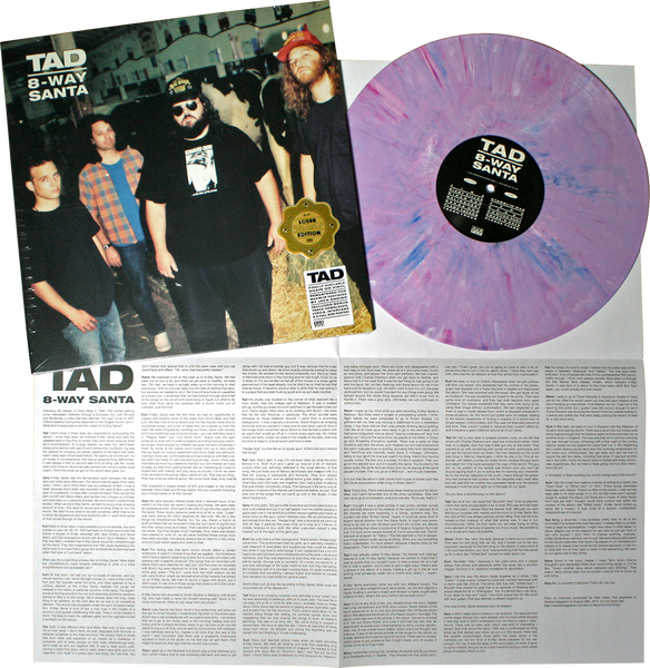 Tad - 8-Way Santa: Loser edition (Decibel Hall of Fame series) Vinyl LP