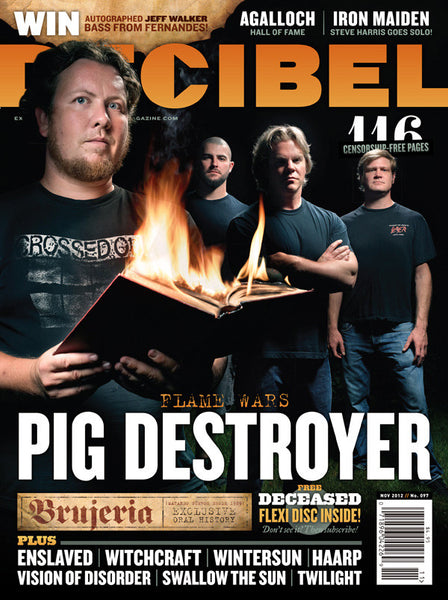 Decibel Magazine November 2012 [#097] cover
