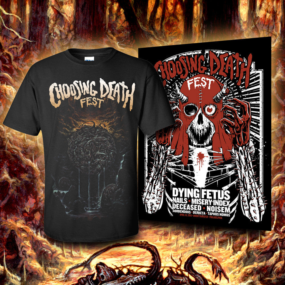 CHOOSING DEATH FEST BUNDLE