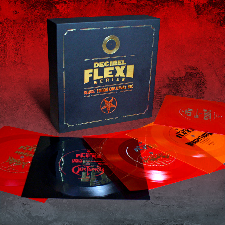 Deluxe Edition Flexi Collector's Box - Death Metal edition