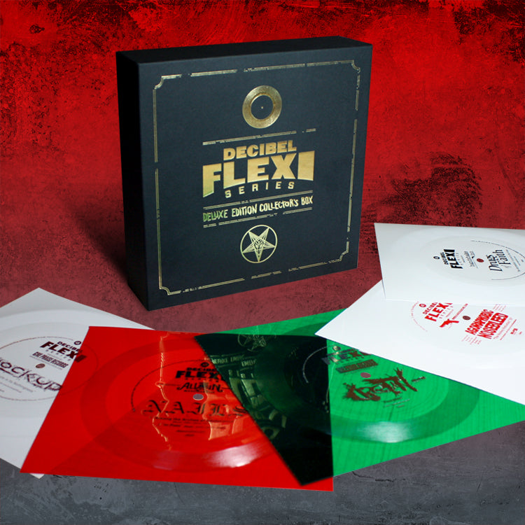 Deluxe Edition Flexi Collector's Box - Grindcore edition