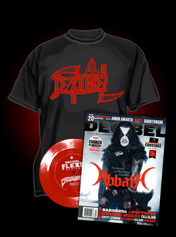 Death Tribute Shirt with Subscription - Flexi disc version