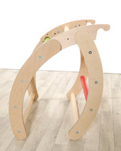 Load image into Gallery viewer, Folding Hump pikler inspired climbing frame