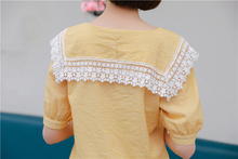 "Load image into Gallery viewer, ""DAINTY"" BLOUSE (2 COLORS)"