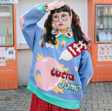 "Load image into Gallery viewer, ""ULTRA JUMP"" SWEATER"