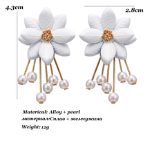"Load image into Gallery viewer, ""ANGEL FLORA"" EARRINGS"