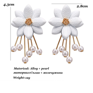 """ANGEL FLORA"" EARRINGS"