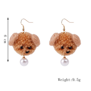 """PUPPY LOVE"" EARRINGS (5 COLORS)"