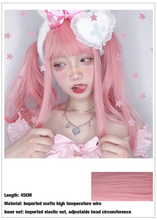 "Load image into Gallery viewer, ""STRAWBERRY LEMONADE"" WIG"