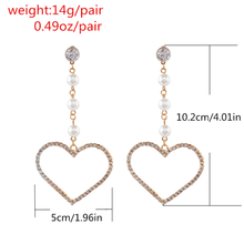 "Load image into Gallery viewer, ""MY LOVE"" EARRING (2 COLORS)"