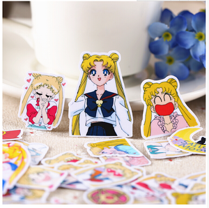 SAILOR MOON ASSORTED STICKERS