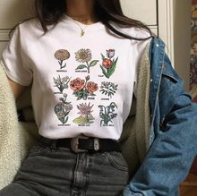 "Load image into Gallery viewer, ""FLOWERS OF LIFE"" SHIRT (2 COLORS)"