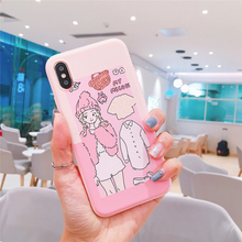 "Load image into Gallery viewer, ""HELLO KITTY / MY MELODY"" FASHION MODEL IPHONE CASE (2 COLORS)"