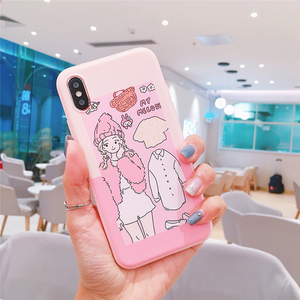 """HELLO KITTY / MY MELODY"" FASHION MODEL IPHONE CASE (2 COLORS)"