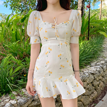 "Load image into Gallery viewer, ""DAISY CHERRIES"" DRESS"