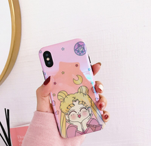 "Load image into Gallery viewer, ""HAPPY USAGI"" IPHONE CASE"