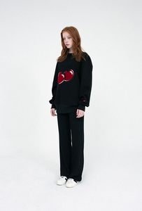 """CHERRY LOVE"" SWEATER (4 COLORS)"