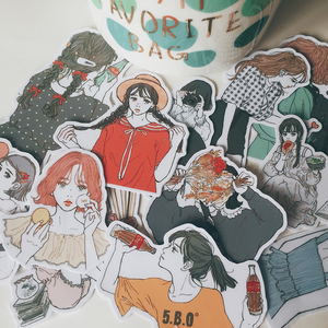 """ULZZANG GIRL"" STICKERS"