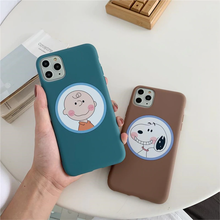 "Load image into Gallery viewer, CHARLIE BROWN ""PALS"" IPHONE CASE (2 COLORS)"