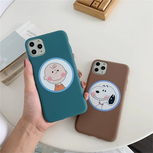 "CHARLIE BROWN ""PALS"" IPHONE CASE (2 COLORS)"
