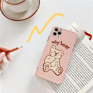 """WHY BEAR"" IPHONE CASE"