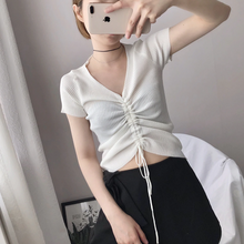 "Load image into Gallery viewer, ""RIN"" CROP TOP (5 COLORS)"
