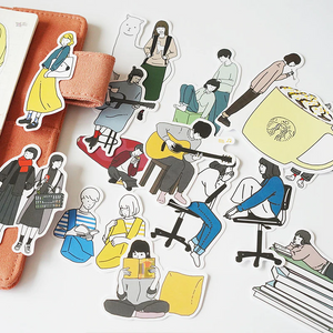 """CARTOON DAILY LIFE"" STICKERS"