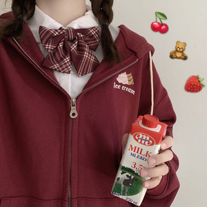 """SCHOOL LUNCH"" JACKET (3 COLORS)"