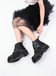 """GRUNGE HEART"" PLATFORM SHOES"
