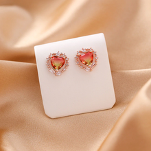 "Load image into Gallery viewer, ""AMBER & HAZE"" EARRINGS (2 COLORS)"