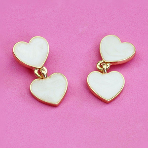 """CANDY HEARTS"" EARRINGS (2 COLORS)"