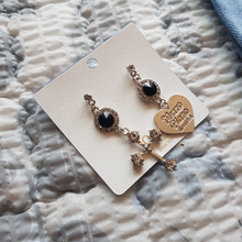 "Load image into Gallery viewer, ""GOTHIC PROMISE"" EARRINGS (2 COLORS)"