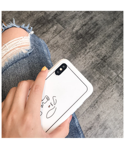 """CRYING WOMAN"" IPHONE CASE"