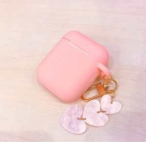 """PINK HEARTS"" AIRPODS CASE"