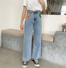 "Load image into Gallery viewer, ""PATCHWORK"" JEANS"