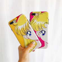 "Load image into Gallery viewer, SAILOR MOON ""PORTRAIT"" IPHONE CASE (2 COLORS)"